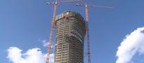 Warsaw Spire: Najwyższy biurowiec w Warszawie ma już 180 m wysokości