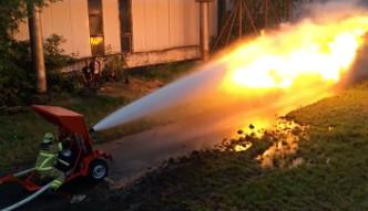 #dziejesiewtechnologiii: Miotacz ognia