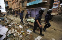 Polscy ratownicy w Nepalu: sytuacja si� pogarsza i b�dzie si� pogarsza� z dnia na dzie�