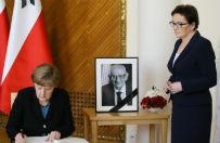 Polsko-niemieckie konsultacje w Warszawie. Kopacz odczyta�a przem�wienie Bartoszewskiego