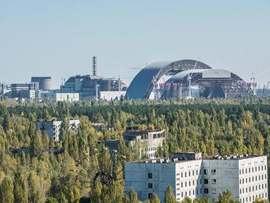 400 ha lasu p�onie w okolicach elektrowni w Czarnobylu