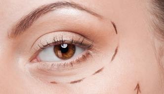 Opadające powieka i worki niebepieczne dla oczu?