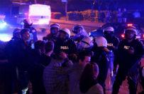 46 zatrzymanych po zamieszkach w Knurowie. Jeden zostanie w areszcie