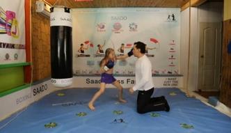 8-letnia bokserka z Kazachstanu podbija sieć