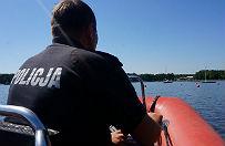 Policja wodna w Rybniku uratowa�a czteroosobow� za�og�
