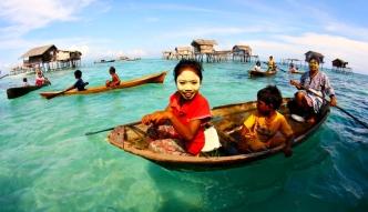 Lud Badjao. Ludzie-ryby z Malezji