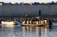 1300 imigrant�w uratowano na Morzu �r�dziemnym