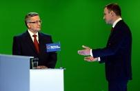 Ostatnia debata mi�dzy Bronis�awem Komorowskim a Andrzejem Dud�