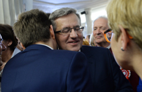 Zbigniew Bujak: Chcia�em, �eby Komorowski mi pom�g�, ale odm�wi�. Nie spodziewam si� po nim niczego