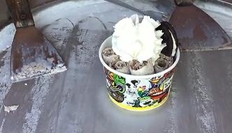 Efektowny sposób wyrabiania lodów