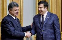 """Micheil Saakaszwili w Odessie i reszta zagranicznego """"zaci�gu"""" na Ukrainie"""