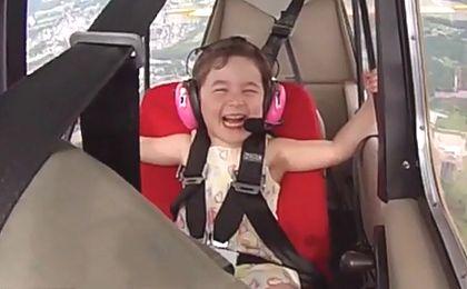 Bezcenne chwile z tatą-pilotem