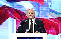 Jaros�aw Kaczy�ski burzy Polsk� Michnika