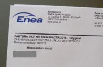 Enea zmienia numery kont klient�w w powiecie pozna�skim. Uwaga, na mo�liwe pr�by oszustwa!