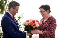 Ewa Kopacz w S�upsku: b�dziemy szuka� rozwi�za� problem�w mniejszych miast