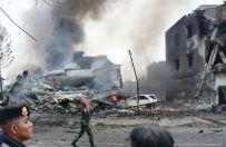 Indonezja: wojskowy samolot rozbi� si� w mie�cie Medan