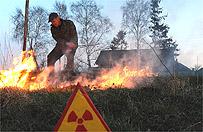 Po�ar w strefie elektrowni w Czarnobylu. W�adze: nie ma zagro�enia