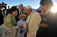 Papie� Franciszek pi� napar z li�ci koki. Walczy� z chorob� wysoko�ciow�