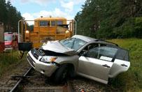 Tragiczny wypadek na przej�ciu kolejowym. Zgin�� 36-letni kierowca