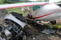 Katastrofa awionetki w pobli�u Golubia-Dobrzynia. Jedna osoba nie �yje, druga jest ranna