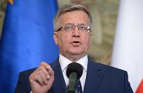 Prezydent Bronis�aw Komorowski przyspieszy� awanse generalskie dla 18 oficer�w