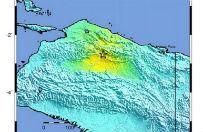 Silne trz�sienie ziemi w prowincji Papua w Indonezji