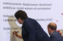 Monar nie podpisa� Paktu Spo�ecznego Przeciw Dopalaczom