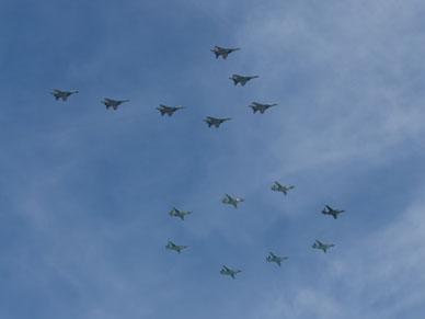 NATO przechwyci�o nad Ba�tykiem dwie du�e grupy rosyjskich samolot�w