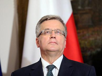 TNS Polska: 51 proc. Polak�w niezadowolonych z prezydentury Komorowskiego
