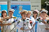 Miller: polskie szpitale przypominaj� fabryk� nastawion� na zysk