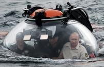 Putin w batyskafie na dnie Morza Czarnego