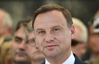 Andrzej Duda w Szczytnie: prezydent ma obowi�zek tak s�u�y� Polsce, jak s�u�� jej policjanci