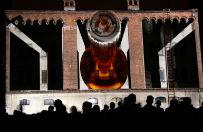 Festiwal mappingu w Tychach. Niezwyk�e wizualizacje na �cianach Browaru Obywatelskiego