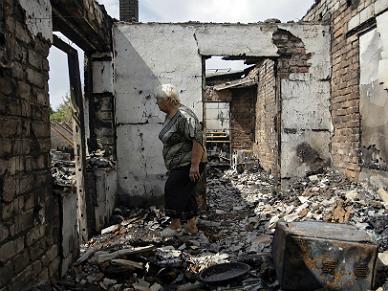 Konflikt na Ukrainie. Ponad 2 mln mieszka�c�w uciek�o z Donbasu