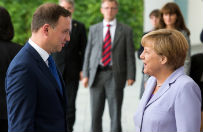 Ulga, ale i rozczarowanie. Niemieckie media po wizycie Andrzeja Dudy w Berlinie