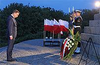 Obchody 76. rocznicy wybuchu II wojny �wiatowej na Westerplatte