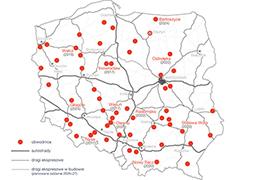 Mapa budowy dróg – obwodnice
