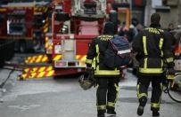 Osiem os�b, w tym dwoje dzieci, zgin�o w po�arze w Pary�u