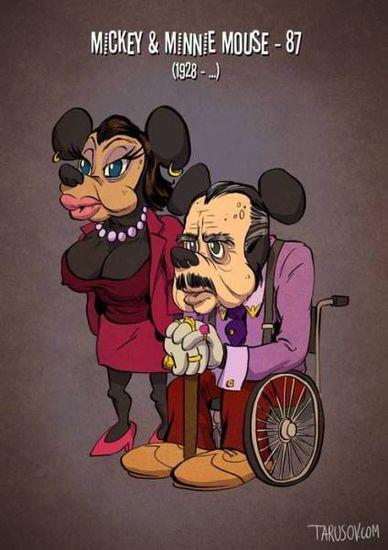 Starzy (znajomi) - Myszka Minnie/Myszka Miki