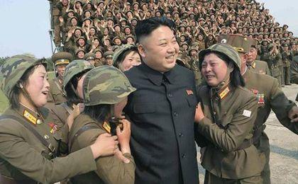 Kim Dzong Un i Photoshop. To musiało się udać