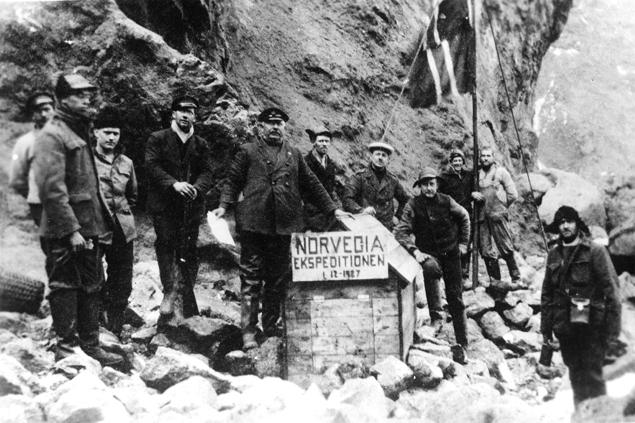 Norweska ekspedycja na wyspie Bouveta, 1 grudnia 1927 r.