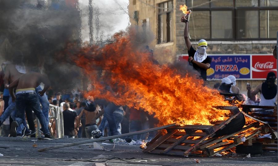 Zamieszki w dzielnicy Szuafat we Wschodniej Jerozolimie, Izrael