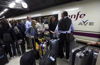 Gigantyczna awaria kolejowa w Hiszpanii. Sabota�?