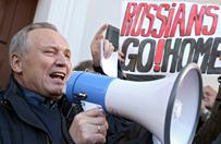 Grzywny dla opozycjonist�w z Bia�orusi za wiec przeciw rosyjskiej bazie