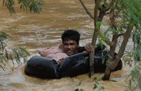 Śmiertelne żniwo tajfunu Koppu na Filipinach