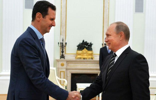 Rozmowy Baszara el-Asada z Władimirem Putinem w Moskwie trwały trzy godziny