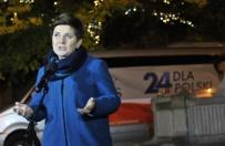 Beata Szydło zaczęła 24-godzinny objazd po Polsce