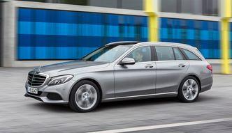 """Mercedes C350e na """"teście łosia"""""""