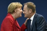 Merkel strzeli�a sobie gola