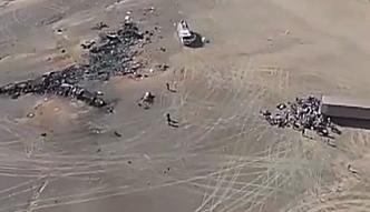 Egipskie media: przyczyną katastrofy A321 była eksplozja silnika